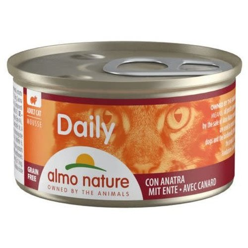Almo Nature Almo Nature Kat Daily Menu Natvoer - Mousse met Eend 85g