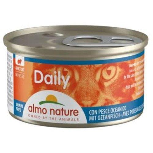 Almo Nature Almo Nature Kat Daily Menu Natvoer - Mousse met Oceaanvis 85g