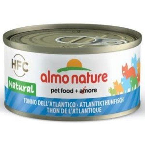 Almo Nature Almo Nature Kat HFC Natvoer - Natural - Tonijn uit de Atlantische Oceaan 70g