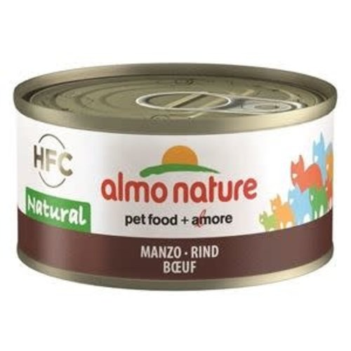 Almo Nature Hfc Cat Natural Blik 70 g rund
