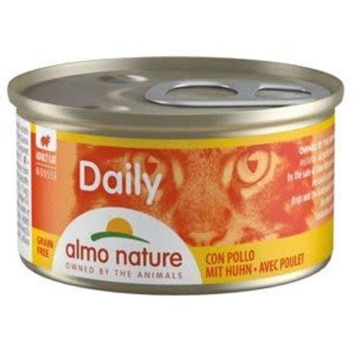 Almo Nature Almo Nature Kat Daily Menu Natvoer - Mousse met Kip 85g