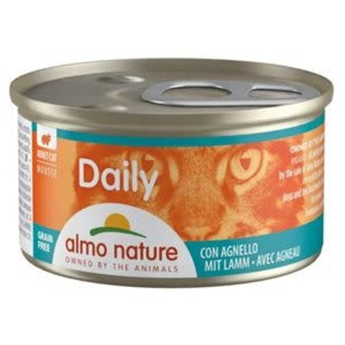 Almo Nature Almo Nature Kat Daily Menu Natvoer - Mousse met Lam 85g