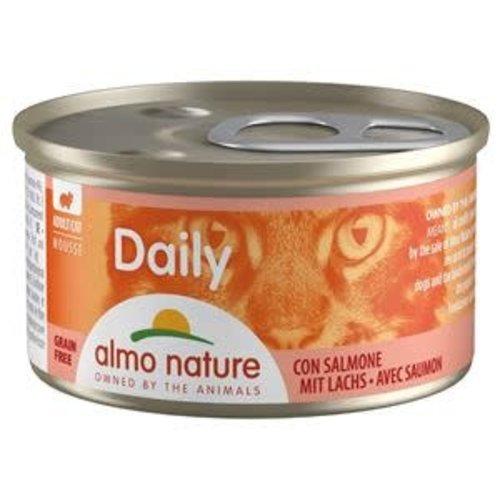 Almo Nature Almo Nature Kat Daily Menu Natvoer - Mousse met Zalm 85g