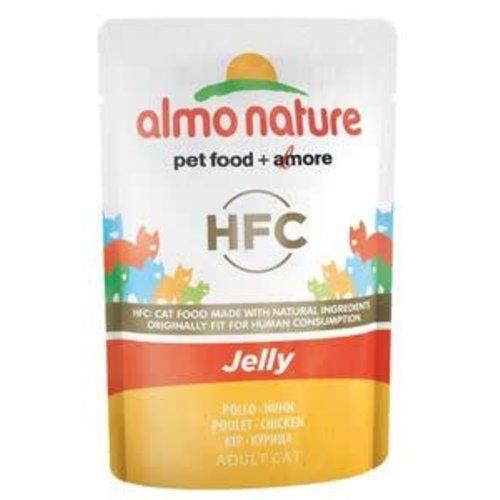Almo Nature Almo Nature Kat HFC Natvoer - Jelly - Kip 55g