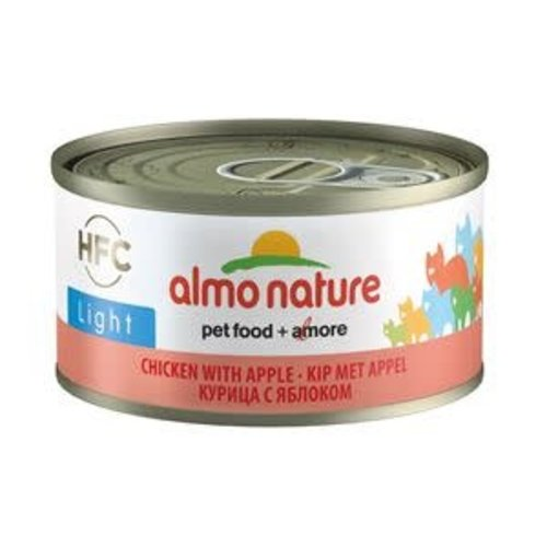 Almo Nature AN Light Kip met Appel 70 gr.