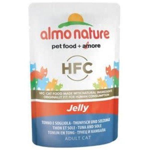 Almo Nature AN Tonijn en Tong in Jelly 55 gr.