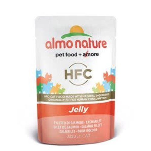 Almo Nature AN Zalm 55 gr.