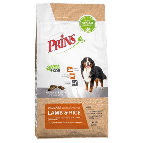 Prins ProCare Hypoallergenic Lamb & Rice 3 kg.