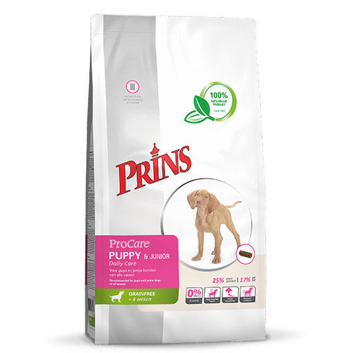Prins ProCare Grainfree Daily Care Puppy & junior 7.5 kg
