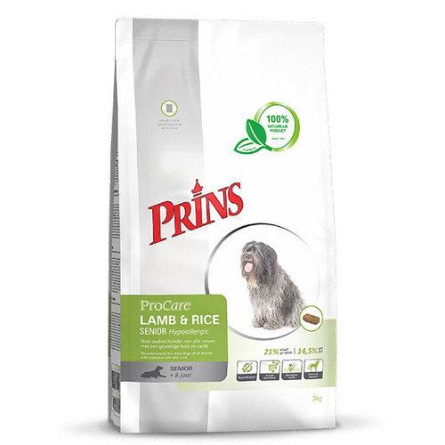Prins ProCare Hypoallergenic Lamb & Rice Senior 15 kg