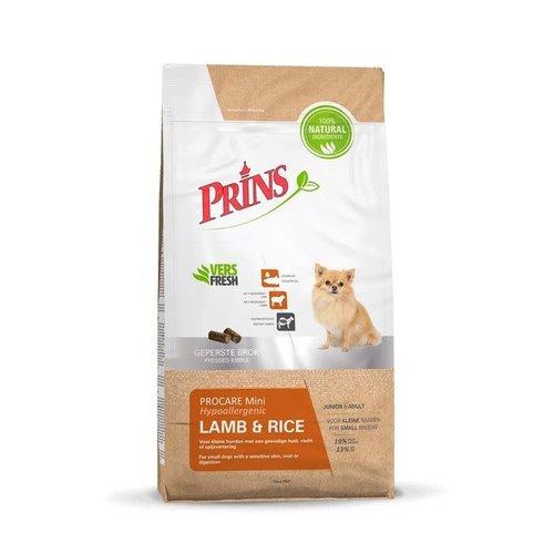 Prins ProCare Mini Hypoallergenic Lamb & Rice 3 kg