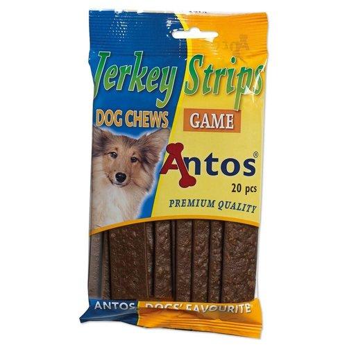 Antos Jerkey Strips Wild 20 stuks
