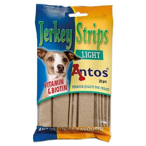 Antos Jerkey Strips Light 20 stuks
