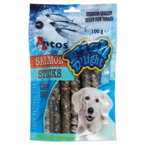 Antos Fish D'light Salmon Sticks 100 gr