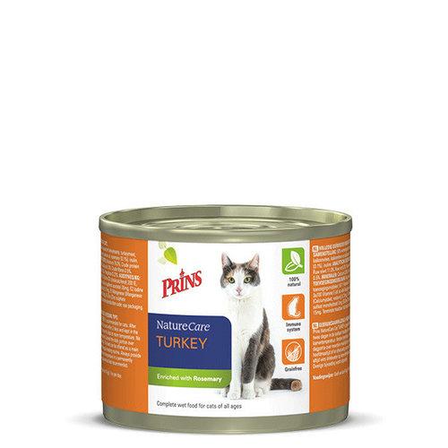 Prins NatureCare Cat 2x200 g Kalkoen