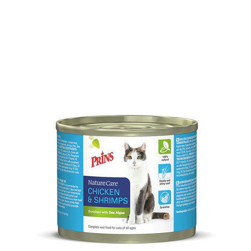 Prins NatureCare Cat 2x200 g Kip