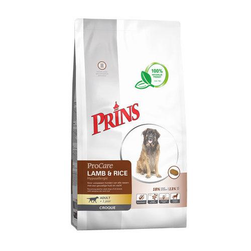 Prins ProCare Croque Lamb & Rice Hypoallegenic 10 kg.