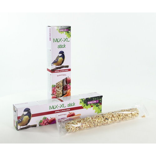 MiX-XL stick Buitenvogel Appel+Rozijn