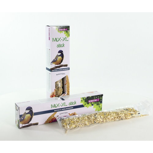 MiX-XL stick Buitenvogel Noten+Meelworm