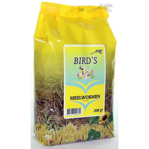 Bird's Birds Meelwormen gedroogd