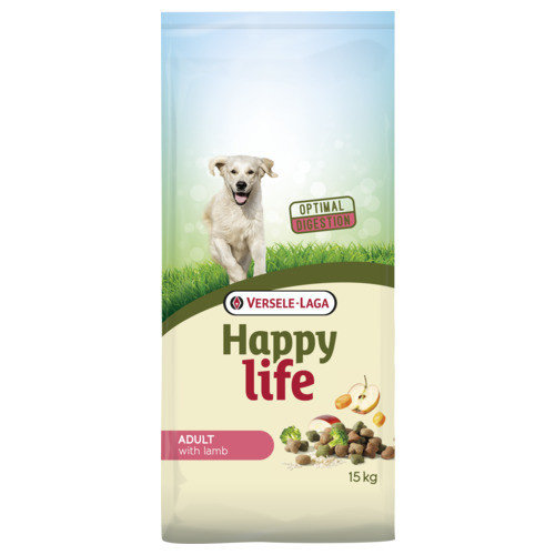 Versele-Laga Happy Life Adult lamb 15 kg
