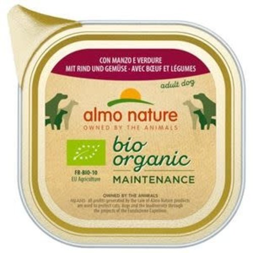 Almo Nature AN Bio Beef and Vegetables 100 g