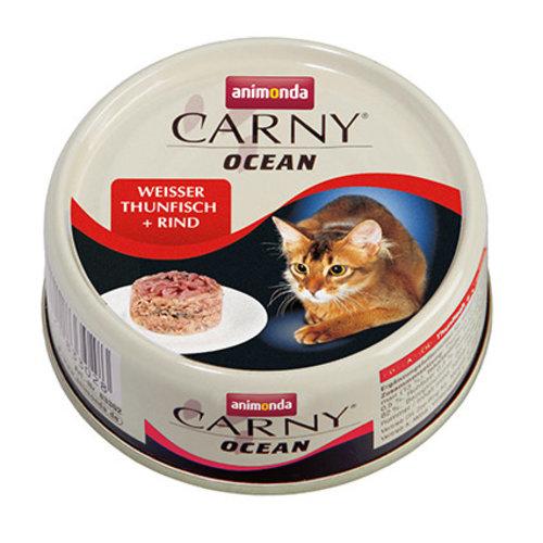 Carny Ocean Witte Tonijn/Rund 80gr.