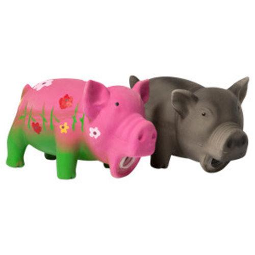 Adori Latex toy varken+pieper Multi-color 16 cm