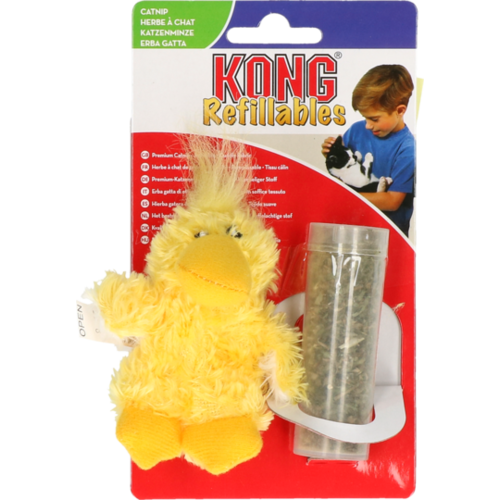 Kong Kong Cat Refillable Catnip Duck