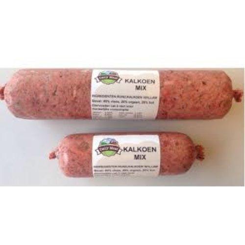 Daily meat Dailymeat Kalkoenmix 500 Gr