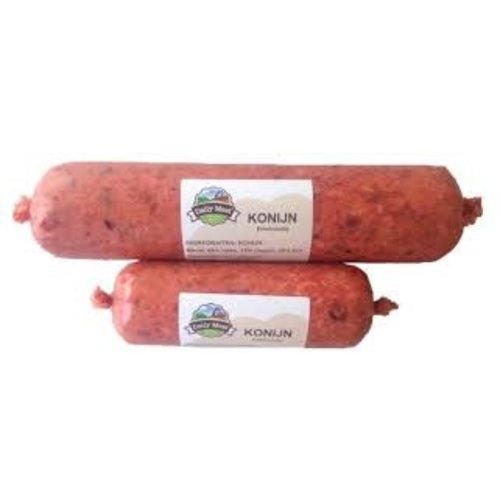Daily meat Dailymeat Konijn Enkelvoudig 500 Gr