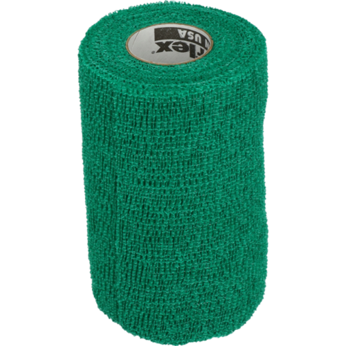 Powerflex Bandage Equine Powerflex groen 10cm