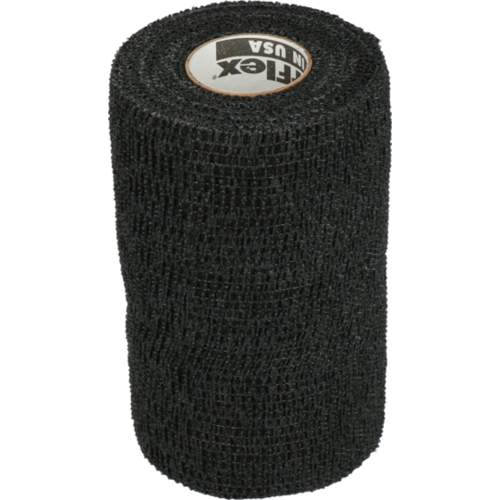 Powerflex Bandage Equine Powerflex zwart 10cm