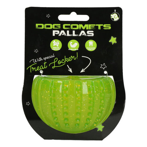 Dog Comets Dog Comets Pallas with Treat Locker Groen