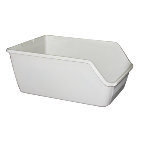 Pawise High-back Litter pan 61x45x25cm kleur assorti