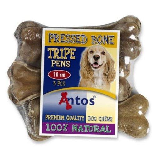 Antos Pressed Bone Pens 10 cm 3 stuks 105 gr