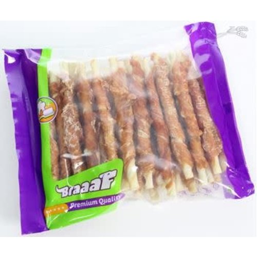 Braaaf Braaaf Roll Sticks Kip 300 gr. 30st.