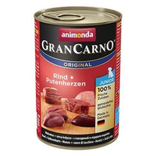 GranCarno Grancarno Junior Rund+Kalkoenhart 400 gr.