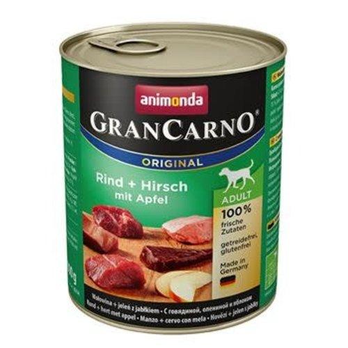 GranCarno Grancarno Rund, Hert+Appel 800 gr.