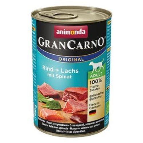 GranCarno Grancarno Rund, Zalm-Spinazie 400 gr.