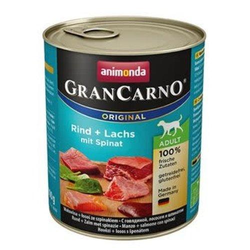 GranCarno Grancarno Rund, Zalm-Spinazie 800 gr.