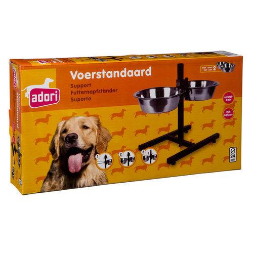 Adori H standaard incl. 2 bakken 24 cm