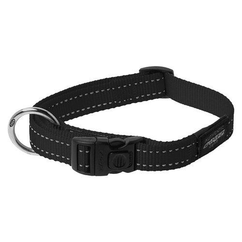 Rogz Utility Halsband Black 34-56 cm.