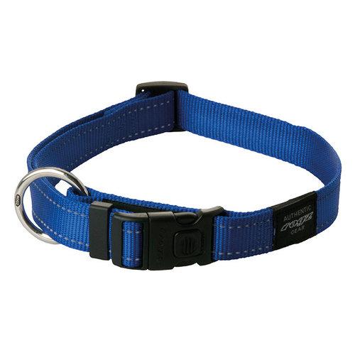 Rogz Utility Halsband Blauw 34-56 cm.