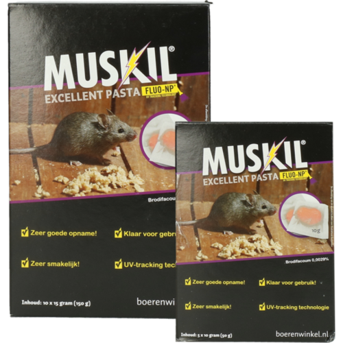 Muskil Muskil Excellent Pasta Muis (5x10g)