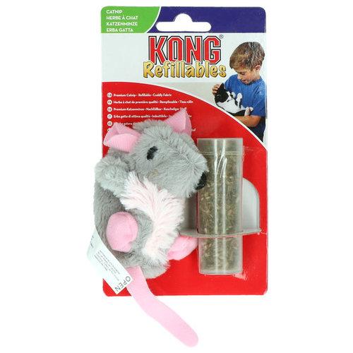 Kong Kong Cat Refillable Catnip Rat
