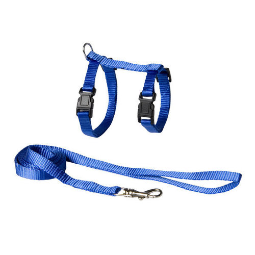 Adori Kittentuigje+looplijn nylon S blauw a 14-21 b 18-28 110x cm