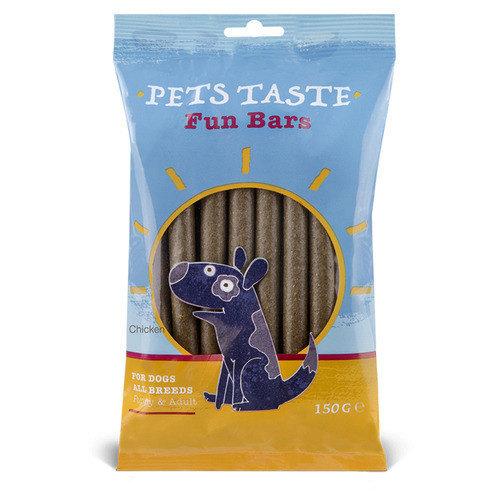 Pets Taste Rolls Kip 150 g 12 stuks