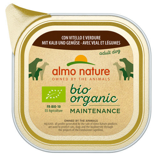 Almo Nature AN Bio Kalf and Vegetables 100 g