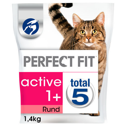 Perfect Fit Droogvoer Active 1.4 kg Rund